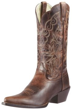Ariat Cowboy Boots for Women   Ariat Womens Heritage Western Sassy Boots 10010968 - Cowboy Boots ...
