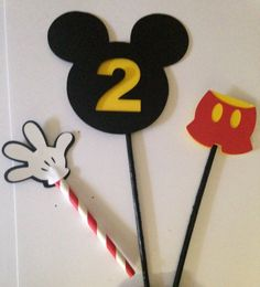 Mickey Mouse Clubhouse Picks Centerpiece by VannessasCreations