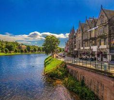 Инвернесс, Шотландия  #travel #travelgidclub #путешествия #traveling #traveler #beautiful #instatravel #tourism #tourist #туризм #природа #архитектура #Инвернесс #Шотландия