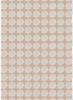 Puketti-ekopuuvilla (beige, sininen, valkoinen) |Kankaat, Puuvillakankaat | Marimekko