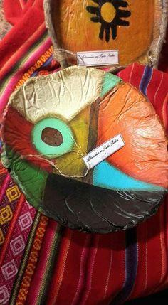 Centro de Mesa en Pasta Piedra... Paper Clay, Diy Paper, Paper Crafts, Pasta Piedra, Paper Bowls, Pasta Flexible, Crafty Craft, Floral Motif, Diy And Crafts