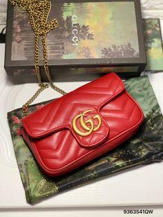 df03999a948c Gucci super mini marmont chain pouch bag 16.5cm purse original ...