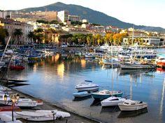 Port d'Ajaccio - Corse Menorca, Ajaccio Corsica, Travel Around The World, Around The Worlds, Barcelona, Ville France, Cruise Destinations, Holiday Places, Cruise Travel