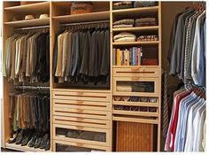 Love the slim drawers and tie drawer