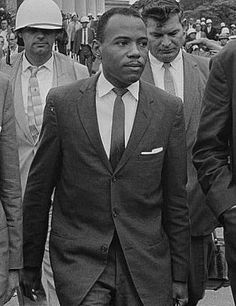 James Howard Meredith was one of the pioneers of the civil rights movement. In 1962 he became the first black student to successfully enroll at the University of Mississippi. Ross Barnett, governor, opposed his enrollment. Violence and rioting surrounding the incident caused President Kennedy to send 5,000 federal troops to restore the peace. Meredith graduated from in 1963 (he had transfered from an all-black college). He gained a law degree from Columbia University.