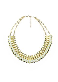 Pure Glam Necklace - White $69.95 #leethal #accessories #fashion