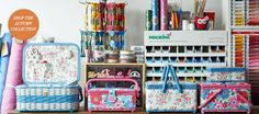 Wouldn't mind one of these sewing baskets!