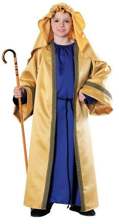 Three Wise Men Christmas Nativity Gaspar JOSEPH Children Costume INCLUDES Ornate purple and gold full length robe featuring gold braiding edges on robe and sleeves Sleeves are full lengt Nativity Costumes, Halloween Costumes For Girls, Christmas Costumes, Halloween Kids, Costumes For Teens, Boy Costumes, Cosplay Costumes, Children Costumes, Costume Ideas