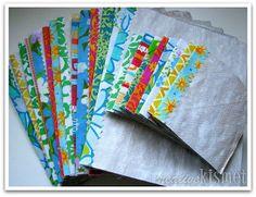 signatures for paper bag art journal by Regina (creative kismet), via Flickr