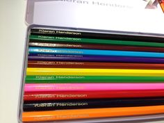 Personalised Pencil Sets - Engraved and Signed