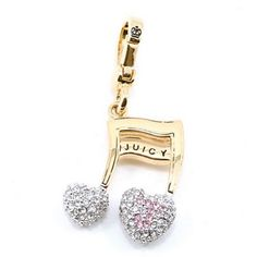 """Juicy Couture Pave """"Music Note"""" - I lOVE my charm...."""