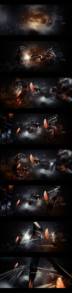 num3ric by Mario Brajdic, via Behance
