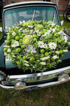 Wedding car! The car does it!
