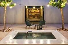 Plunge pool at Hotel Aire De Bardenas, Tudela, in Spain. - My New Tub.