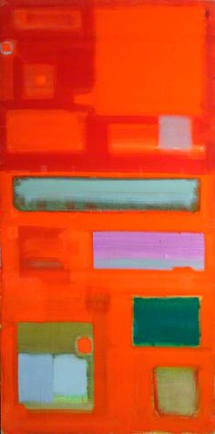 Images in Red : August – September 1958 by Patrick Heron (British 1920-1999)