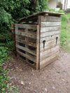 Fabrication d'un bac à compost en français