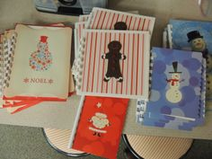 The Way I Teach: Upcycled Christmas Card Student Books and Journals
