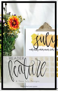 Reader Feature and New July Designs –TLIB Choose Love, Design Shop, You Must, Lifestyle Blog, Place Card Holders, Group, Creative