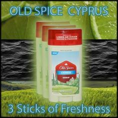 old spice cyprus deodorant