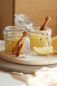 DIY: luxurious lemon sugar body scrub   When life gives you lemons make body scrub!!!
