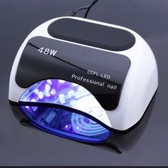 Professional 48 W CCFL LED Lamp Nail Dryer For Nail Gel Polish Curing Nails Lamp Dryers Art Manicure Automatic sensor US EU Plug
