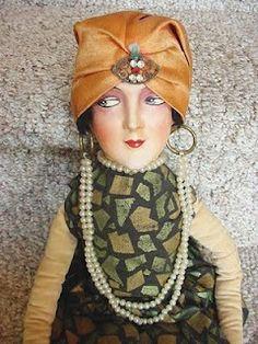 Frau Wulf's Boudoir Doll Blog: Two More German-Made Divanpuppchen
