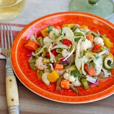 Italian Marinated Vegetable Salad (giardiniera)