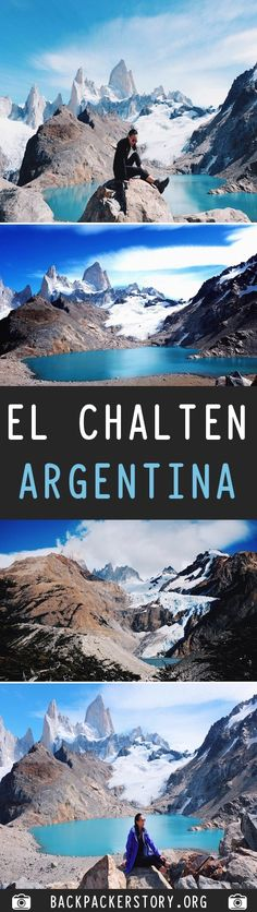 """El Chalten nicknamed """"The Trekking Capital of Argentina"""" and it is also a gateway to see the famous Mount Fitz Roy. Depending on how much trekking you want Argentina Travel, Top Place, Backpacker, Cheap Web Hosting, Ecommerce Hosting, Mount Everest, Travel Inspiration, Places To Visit, Big"""