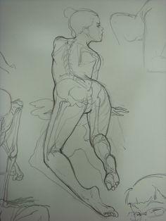 Intro to figure drawing & anatomy - Kim Jung Gi