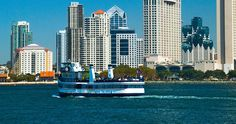 25 Free Things to do in San Diego, California.  Photo: Harbor Cruise on San Diegos Big Bay