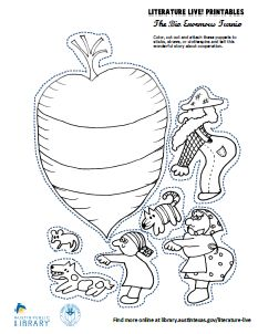 The Big Enormous Turnip (Printable Puppet Series) Preschool Projects, Preschool Activities, Austin Texas, Traditional Tales, Force And Motion, Flannel Boards, School Themes, Nursery Rhymes, Puppets