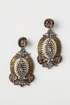 Windsor Drop Earrings.  Anthropologie.