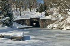 Winter at the Old Tunnel Canal in Lebanon,Pa