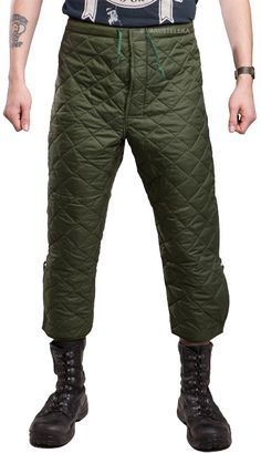 British extreme cold weather liner trousers, surplus