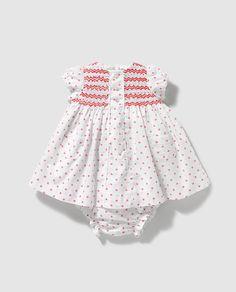 Vestido de bebé niña Dulces estampado