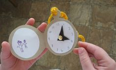 The children attending your movie party will love making their own pocket watch crafts before the movie begins - Southern Outdoor Cinema expert tip for theming and enhancing an outdoor movie event.