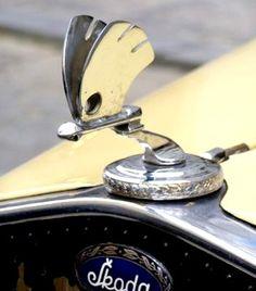 flying arrow - Skoda - Škoda Auto - hood ornament http://flanaganmotors.com