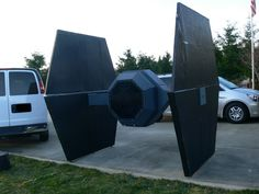 Weekend project: How to build a Star Wars TIE fighter