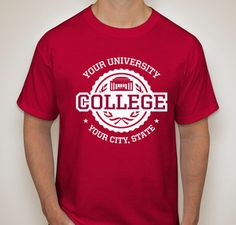 c807567c4cce Image result for college t-shirt designs College T Shirts, Custom T Shirt  Printing