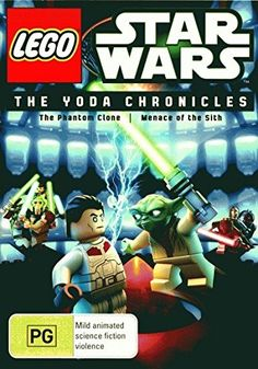 Lego Star Wars  The Yoda Chronicles  The Phantom Clone  Menace of the Sith 1 Disc NONUSA Format  PAL  Region 4 Import  Australia >>> Click on the image for additional details.