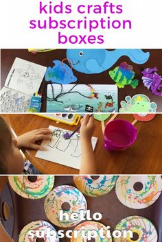Kids Craft & Activities Subscription Boxes. Monthly boxes to keep the kids busy! From arts & crafts to cooking to stickers and other fun! http://boxes.hellosubscription.com/kids-craft-activities-subscription-boxes/ #subscriptionbox #subscriptionboxes #kidscrafts
