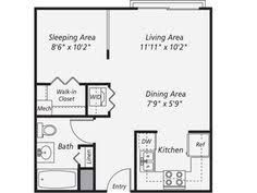 Image result for 600 sf in law unit