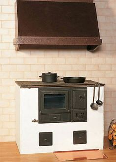 Finnoven wood fired cooker.