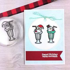 @thelizhoshow says yes, please to an extra frosty Christmas Shake! Did you add this yummy set to your collection today?