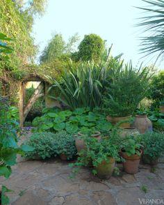 Umberto Pasti's Tangier garden.