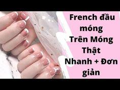 Nail French - Nghi Thảo #nail #frech #nghi #thao #nails French Nails, Nail Polish, Youtube, French Tips, Nail Polishes, Polish, Youtubers, Manicure, Youtube Movies