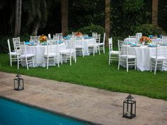 Garden wedding at Villa Verano in Puerto Vallarta Mexico