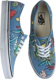 Nobody does classic kicks like Vans. Step into paradise #vans #floral #guys