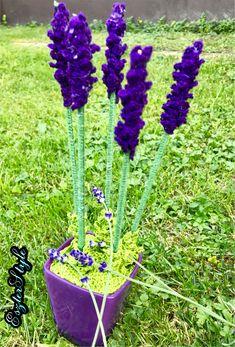 Lavender chrochet