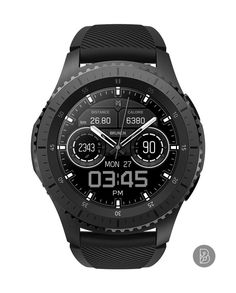 BLENT - Watch face for Samsung Gear S3 / S2. Watchface by Brunen Big Watches, Sport Watches, Cool Watches, Wrist Watches, Mens Toys, Amazing Watches, Luxury Watches For Men, Watch Faces, Automatic Watch